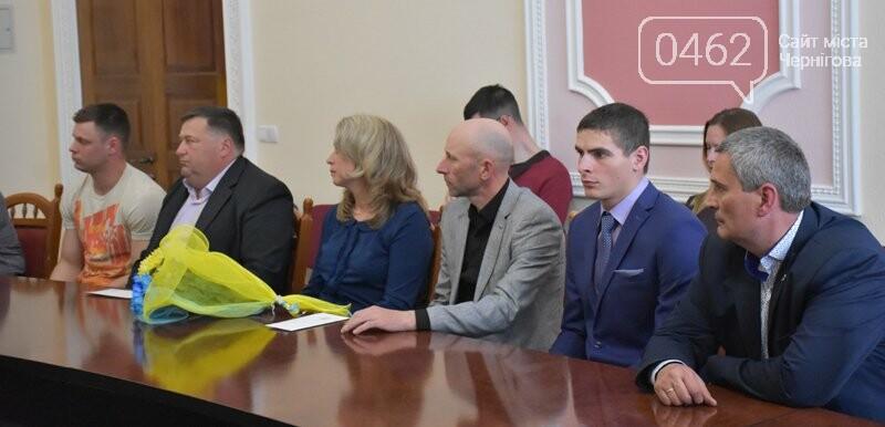 Владислав Атрошенко вручил награды черниговским спортсменам и их тренерам, фото-2