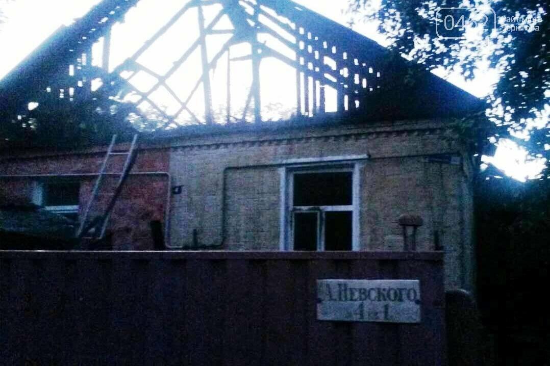 На Подусовке сгорел частный дом – в больнице с 90% ожогов тела пенсионерка, фото-1
