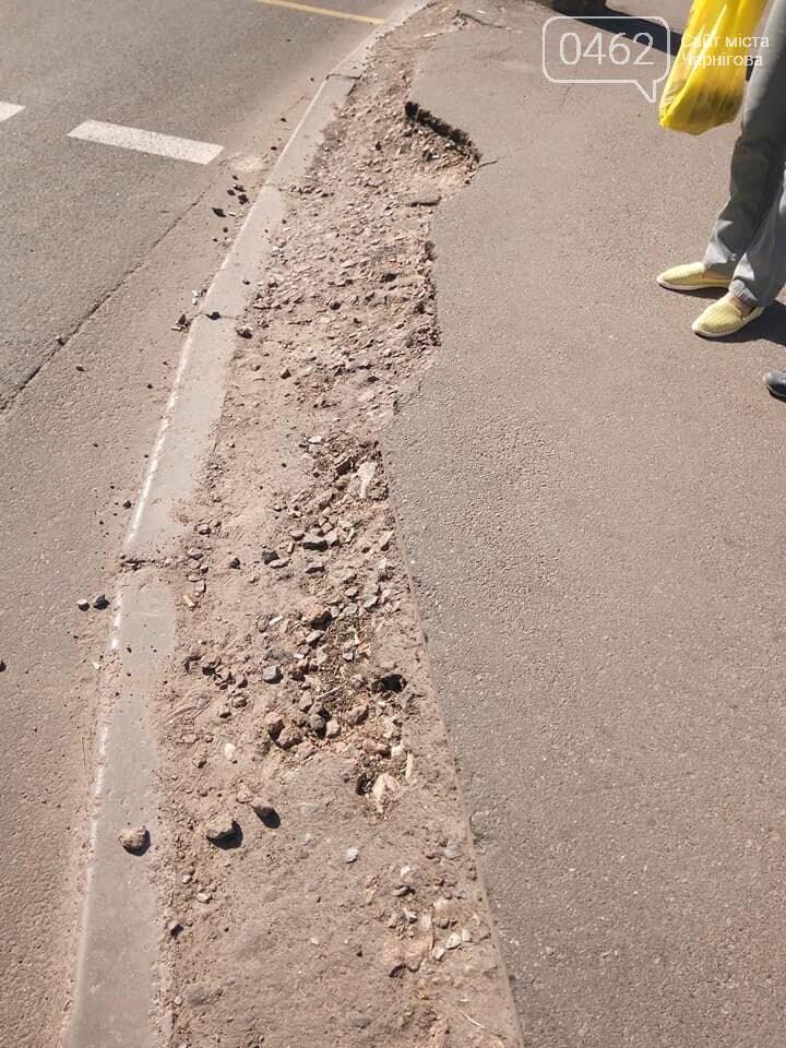 Чернігівські матусі невдоволені станом тротуарів та пішохідних переходів по місту, фото-5