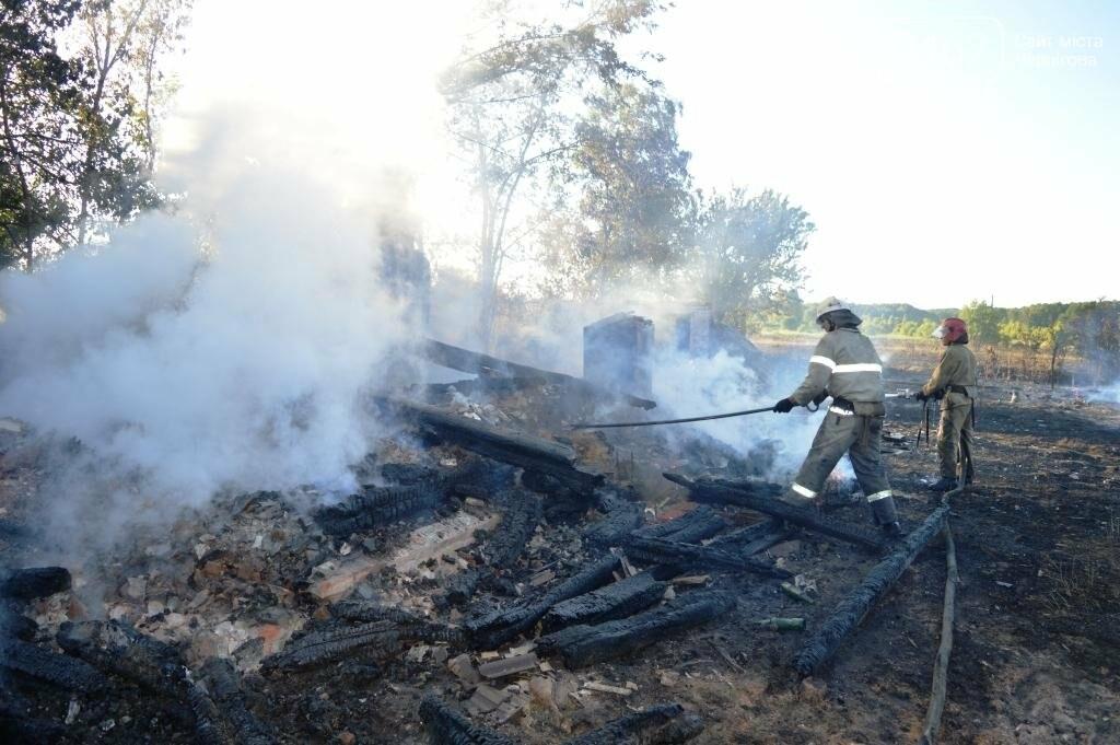 Масштабный пожар в Черниговской области: сгорело 4 дома и 9 сараев, фото-4