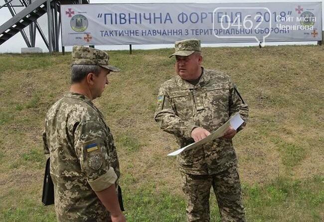 «Північна фортеця». В Черниговской области стартовали тактические учения, фото-10