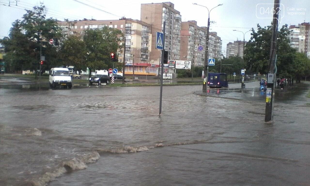 Черниговские улицы утонули, фото-11