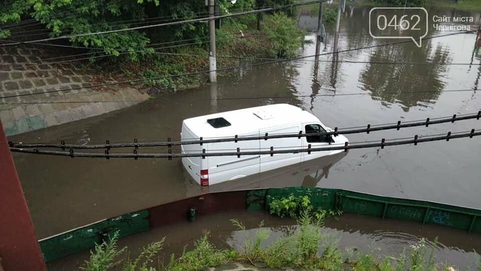 Черниговские улицы утонули, фото-5