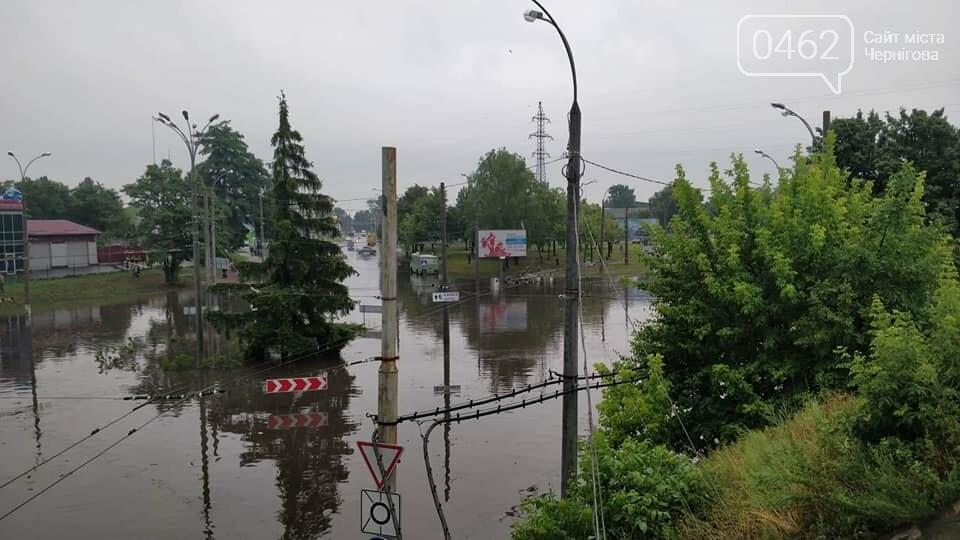 Черниговские улицы утонули, фото-6