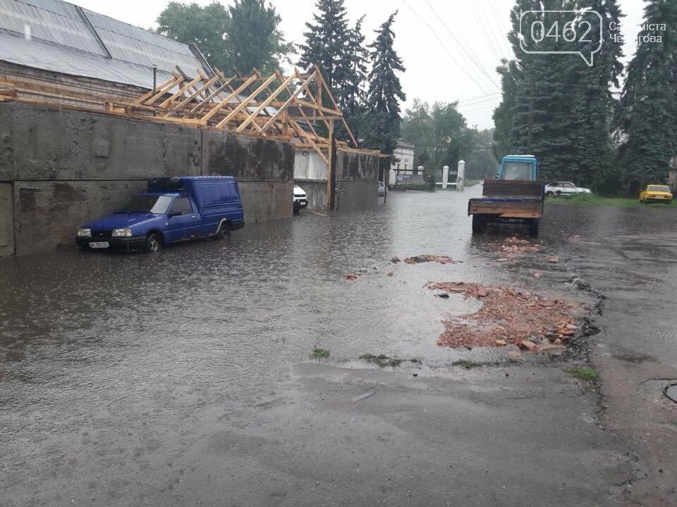 Черниговские улицы утонули, фото-4
