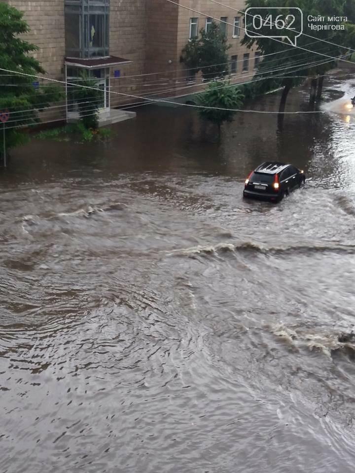 Черниговские улицы утонули, фото-21