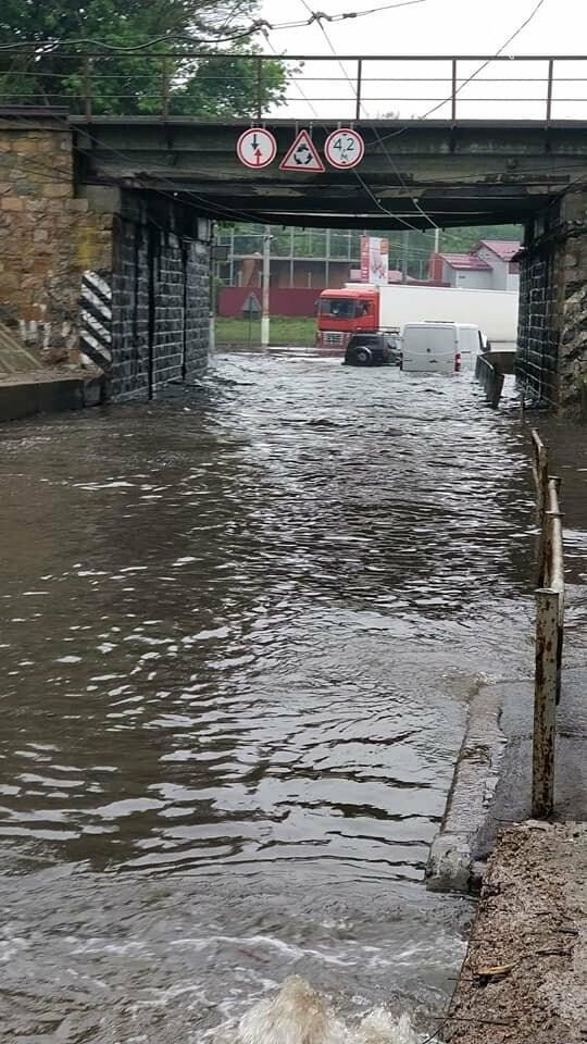Черниговские улицы утонули, фото-9