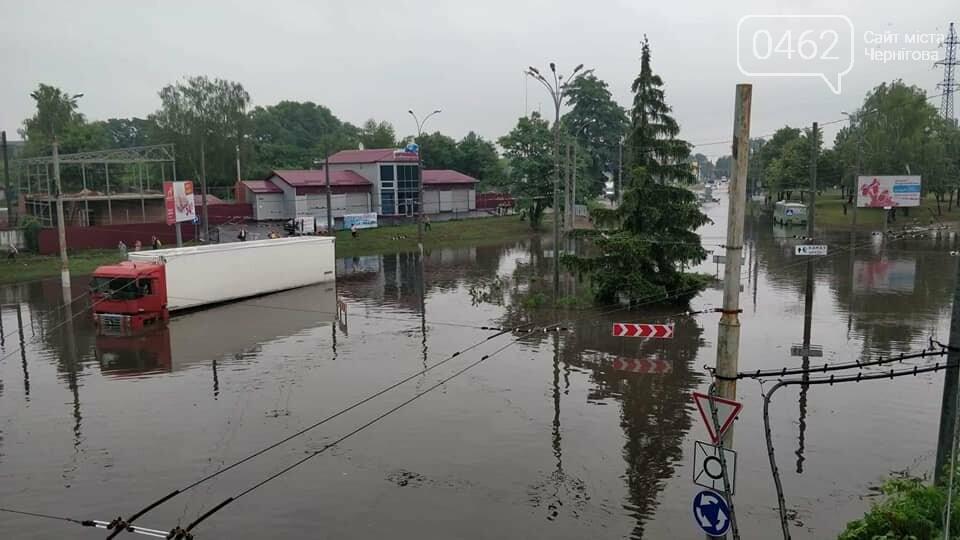 Черниговские улицы утонули, фото-7