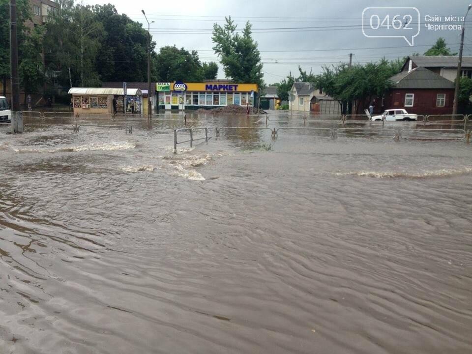 Черниговские улицы утонули, фото-10