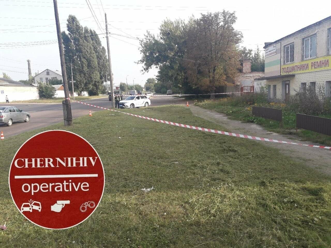 У Чернігові на вулиці знайшли небезпечні предмети схожі на гранати, фото-1