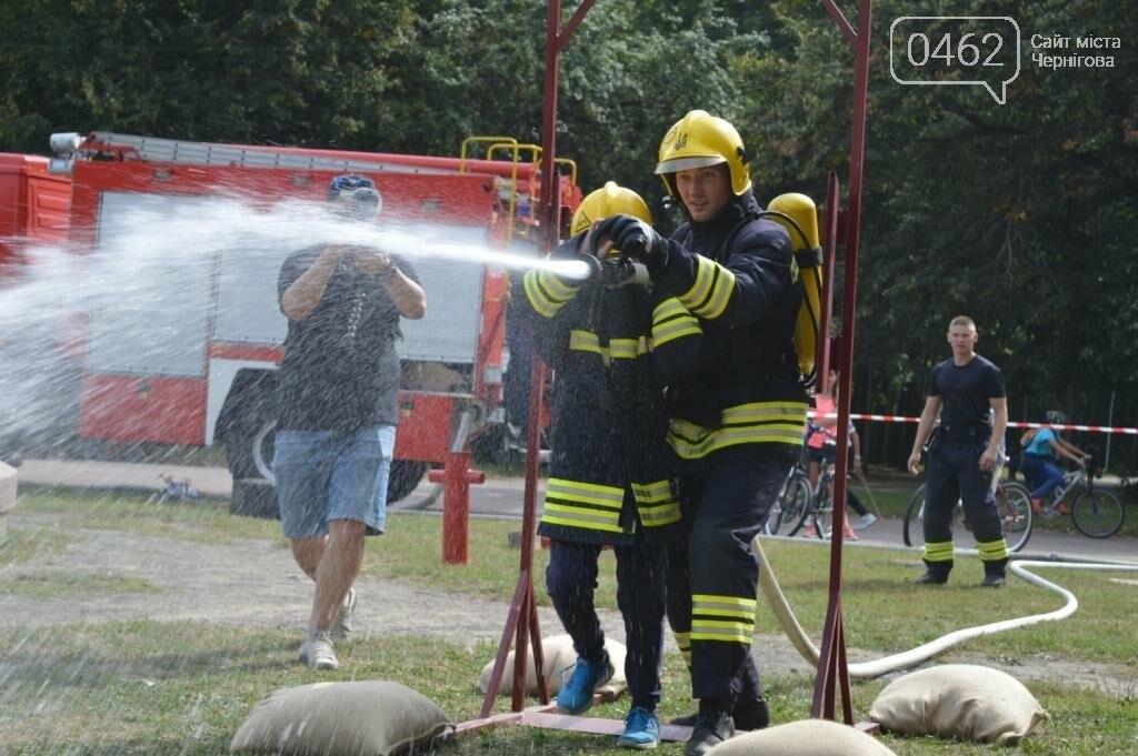 Чернігівські рятувальники показали свої здібності у новому виді змагань, фото-1