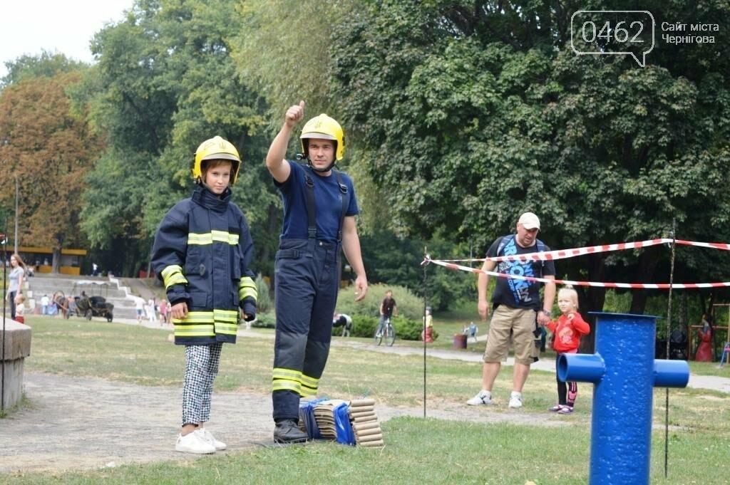 Чернігівські рятувальники показали свої здібності у новому виді змагань, фото-7