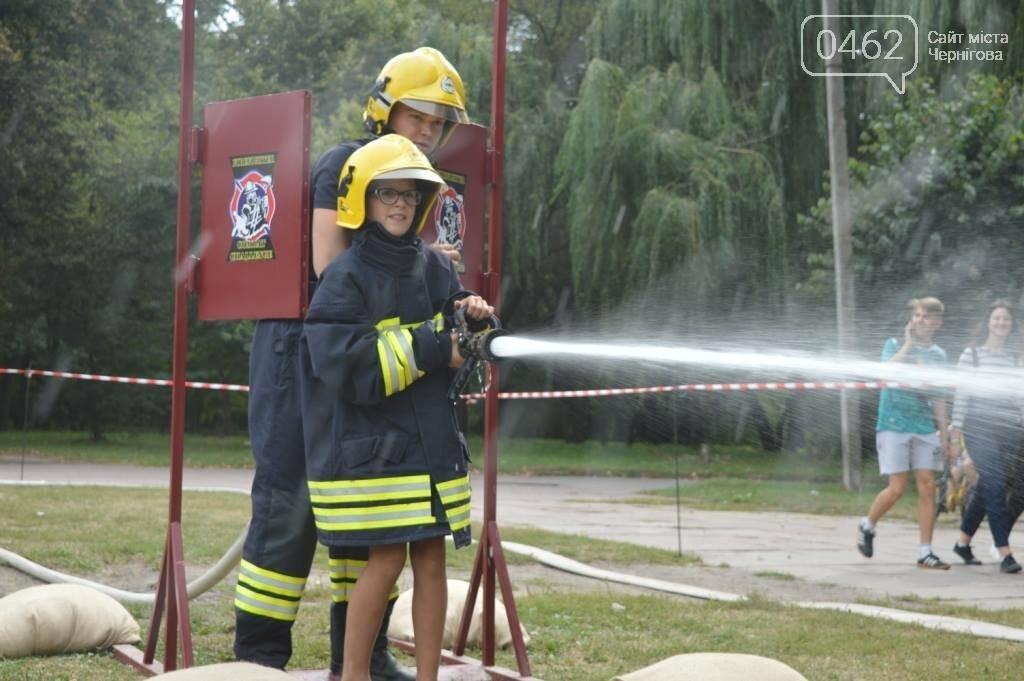 Чернігівські рятувальники показали свої здібності у новому виді змагань, фото-4