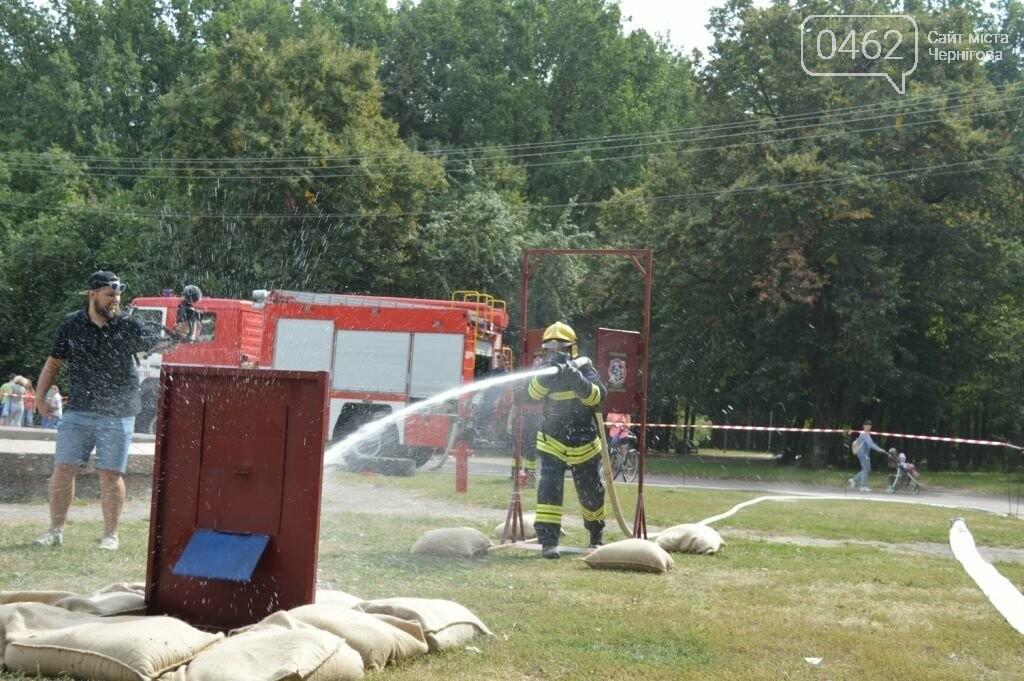 Чернігівські рятувальники показали свої здібності у новому виді змагань, фото-10