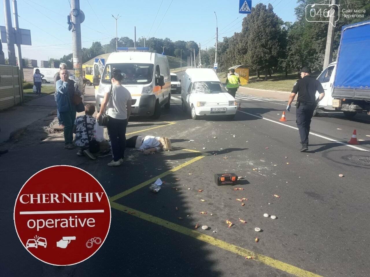 У Чернігові на пішохідному переході збили дівчину, фото-2