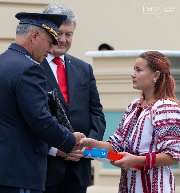 Президент нагородив юну рятувальницю з Чернігова, фото-1