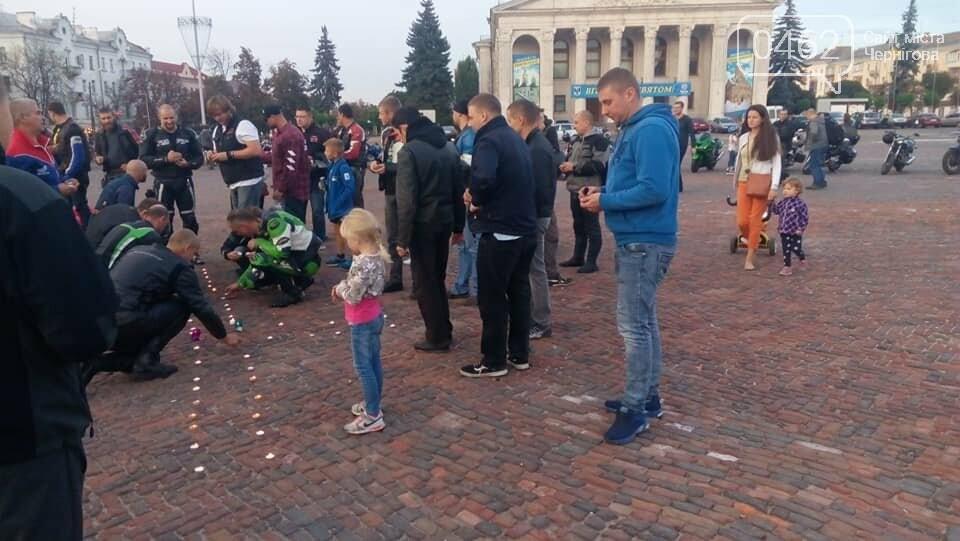 У Чернігові вшановували пам'ять загиблих байкерів, фото-3