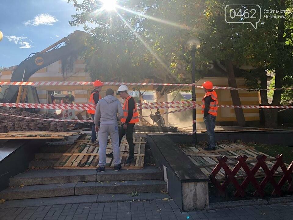 Розпочалась реконструкція будівлі МакДональдзу (ФОТО;ВІДЕО), фото-3