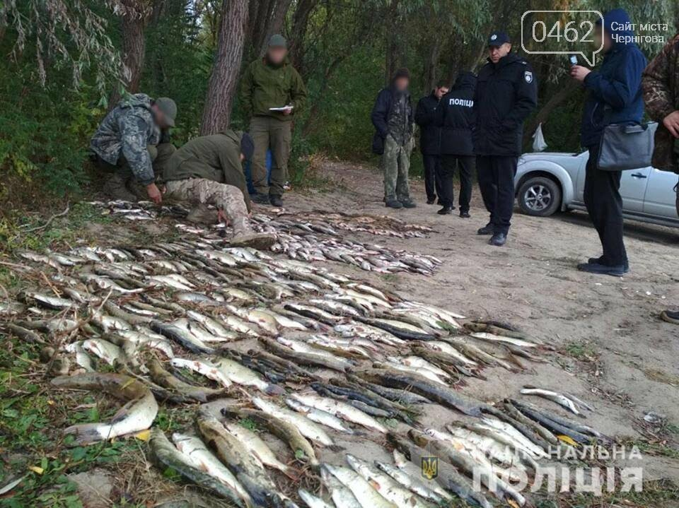 Возле Чернигова на Десне поймали двух браконьеров с электроудочкой, фото-1