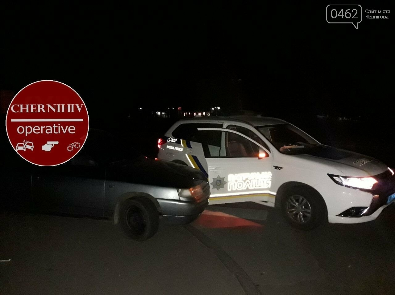 У Чернігові відбулось затримання із поліцейською погонею, фото-3