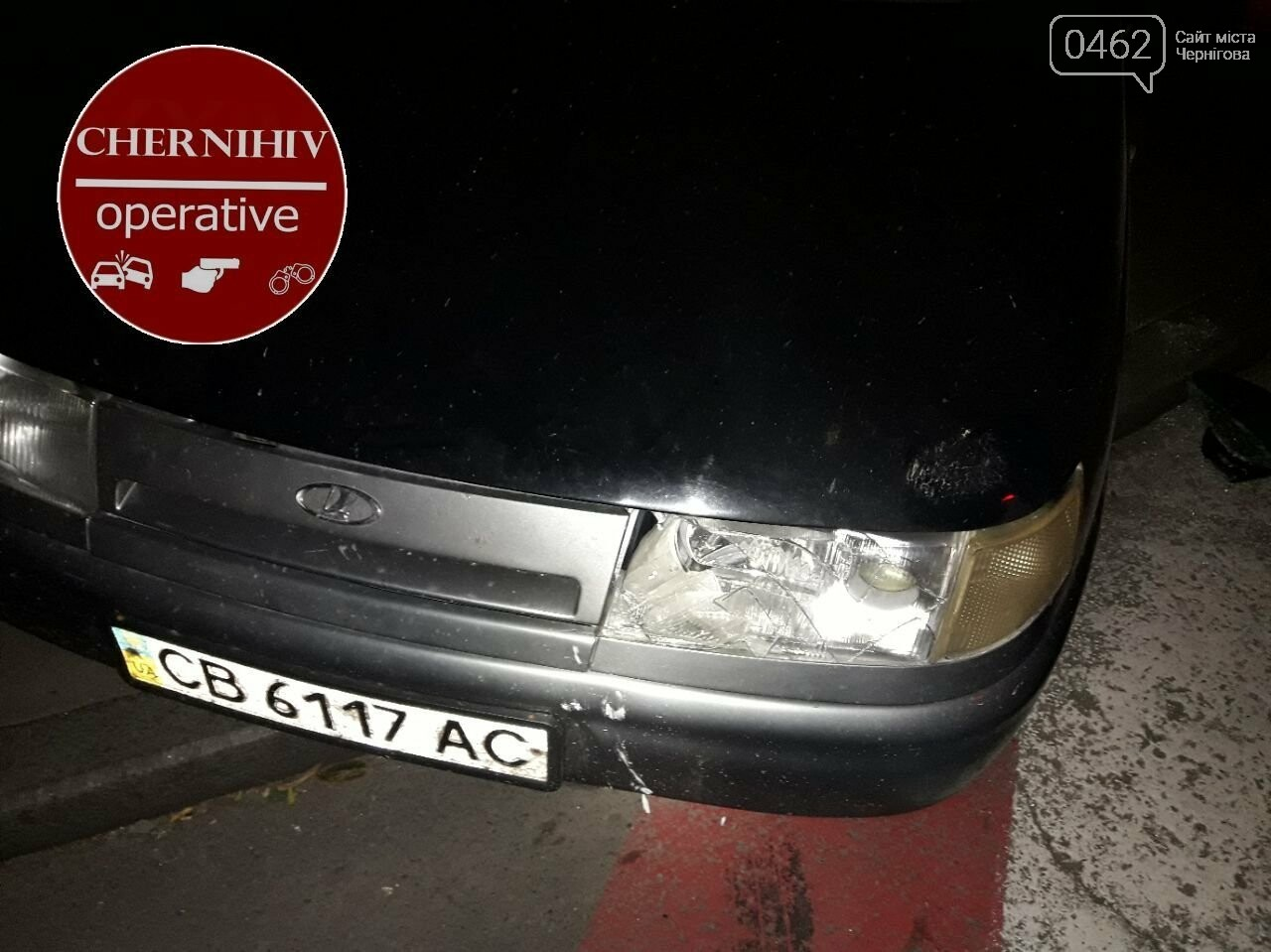 У Чернігові відбулось затримання із поліцейською погонею, фото-6