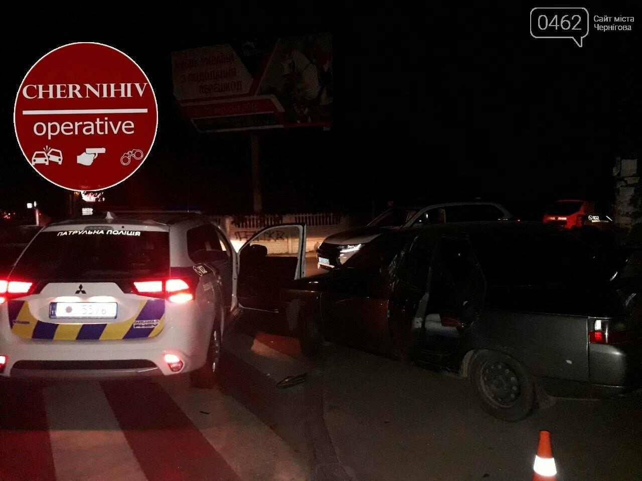У Чернігові відбулось затримання із поліцейською погонею, фото-4