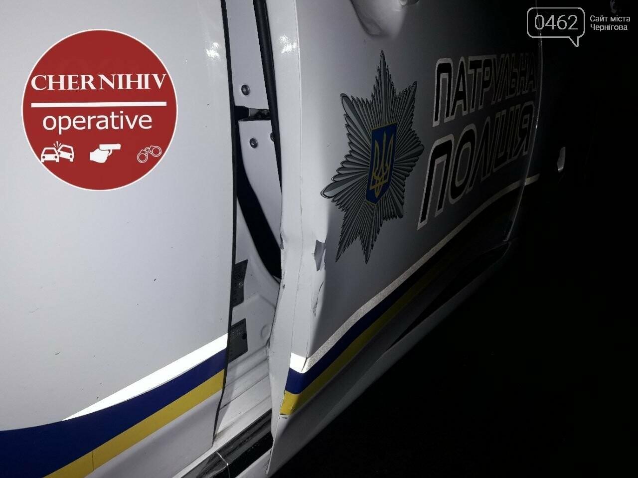 У Чернігові відбулось затримання із поліцейською погонею, фото-5