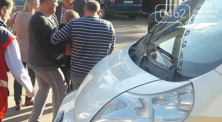 На улице Шевченко возле стадиона «Мерседес» сбил ребенка, фото-1