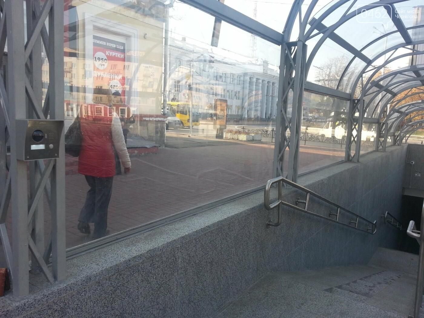 """У підземному переході біля готелю """"Україна"""" тепер є спеціальний підйомник, фото-4"""