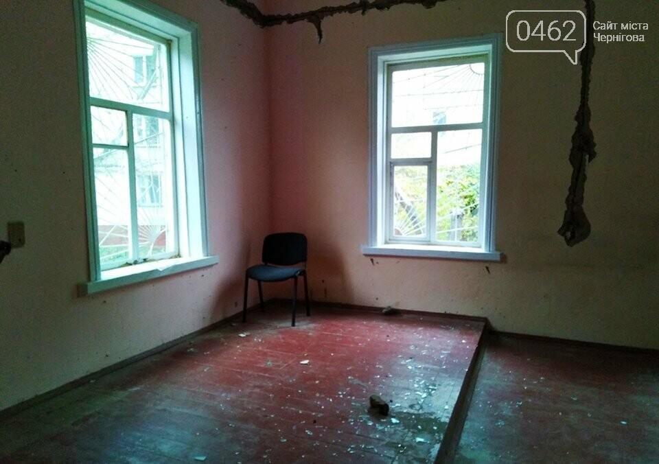 В Чернигове вандалы испортили 100-летний дом – памятку истории, фото-1