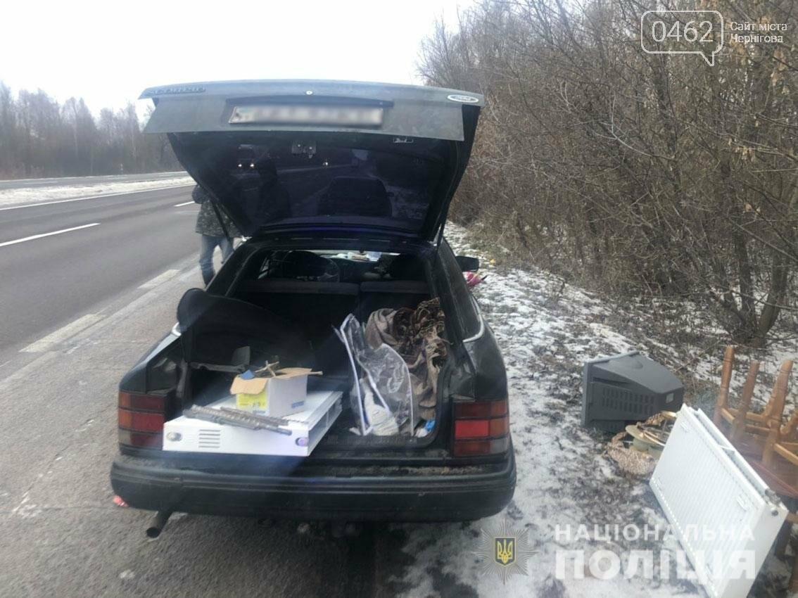 Серийные воры, промышлявшие в Черниговской области, поймались после 10 краж, фото-2
