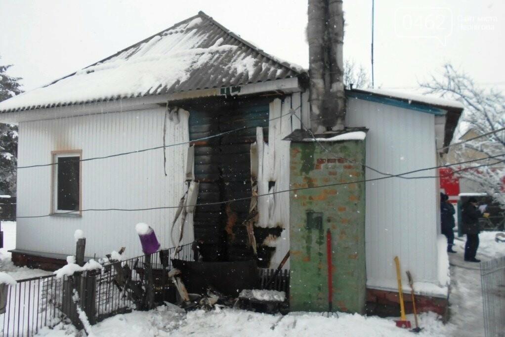 В пожаре в Ичне погибла пара  пенсионеров, фото-1