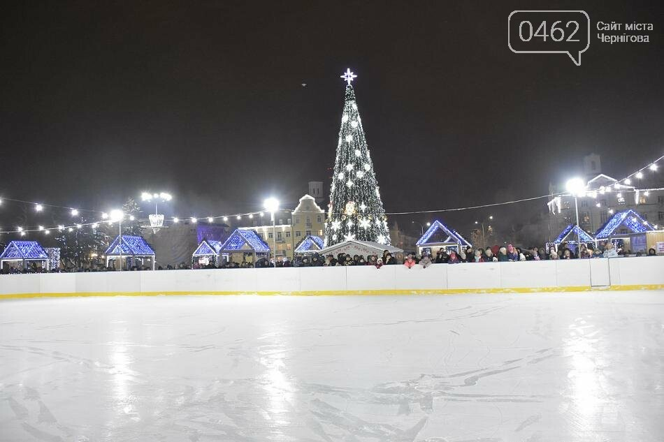 У Чернігові урочисто відкрили новорічну ялинку, фото-3