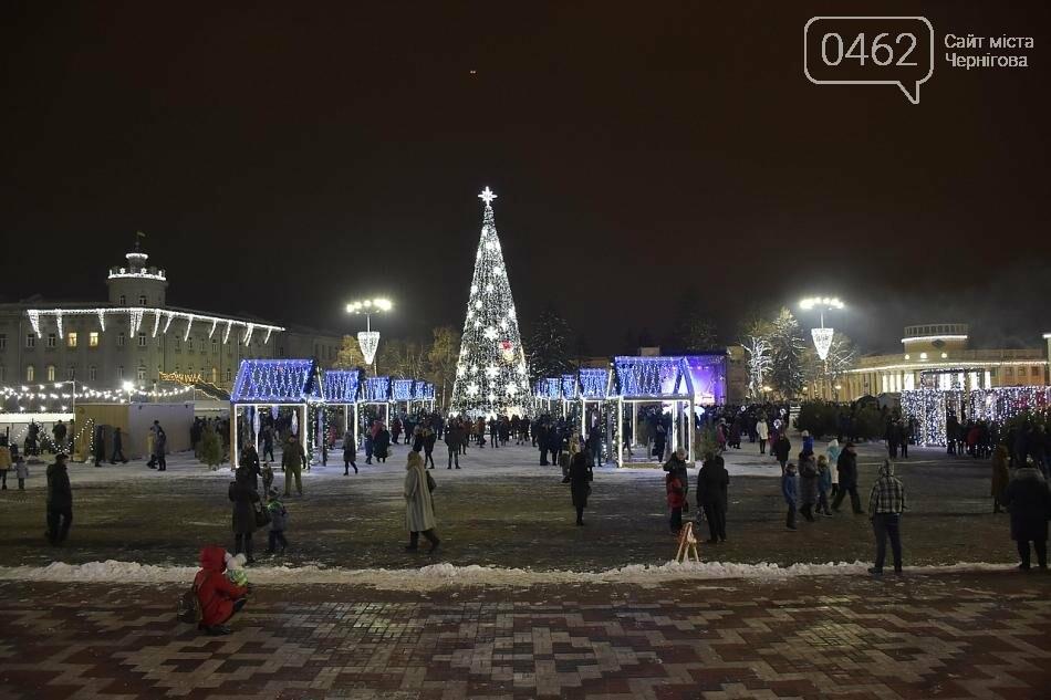 У Чернігові урочисто відкрили новорічну ялинку, фото-4