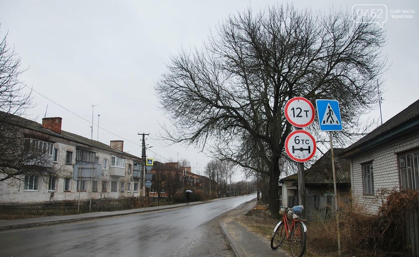 Фуры разрушают дорогу в Черниговской области. С ними будут бороться габаритными рамками, фото-1