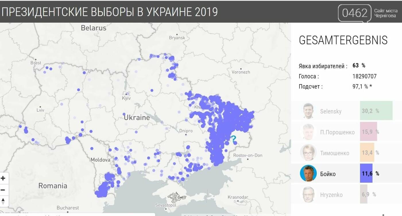 У яких районах Чернігова найбільше голосували за кожного з кандидатів, фото-14