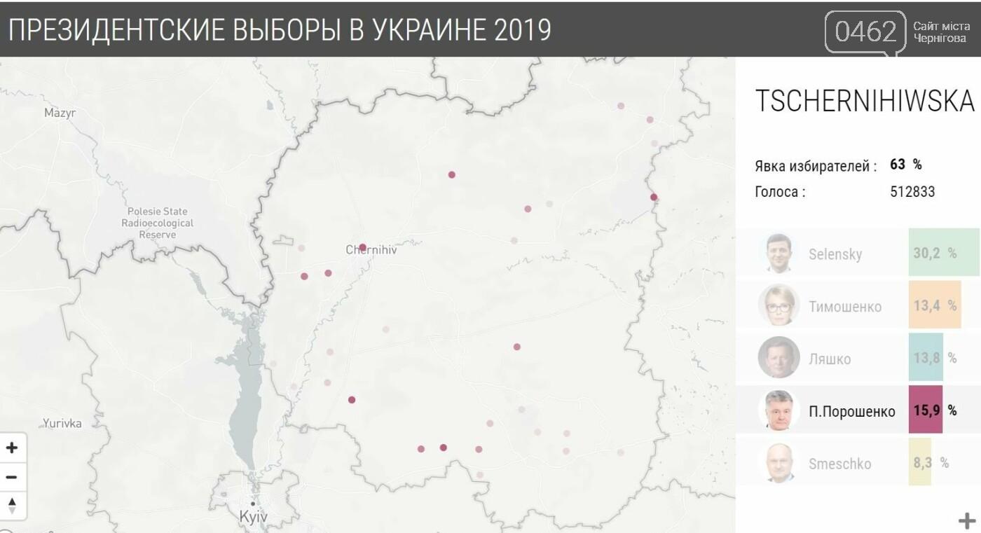 У яких районах Чернігова найбільше голосували за кожного з кандидатів, фото-9