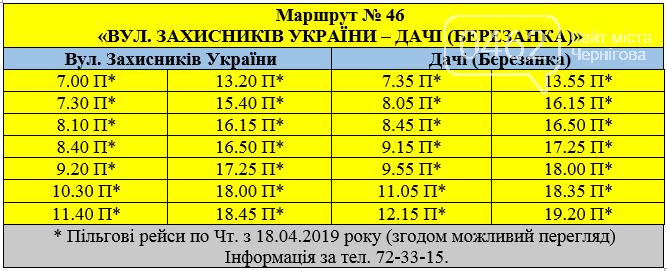 Став відомий графік руху дачних маршруток у Чернігові, фото-4