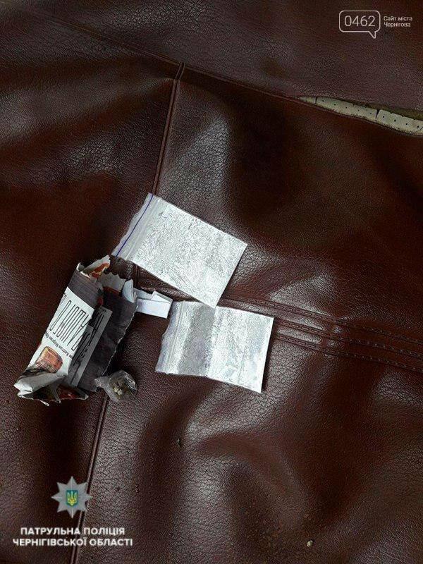 За вчерашний день в Чернигове патрульные поймали двух наркоманов за рулем, фото-2