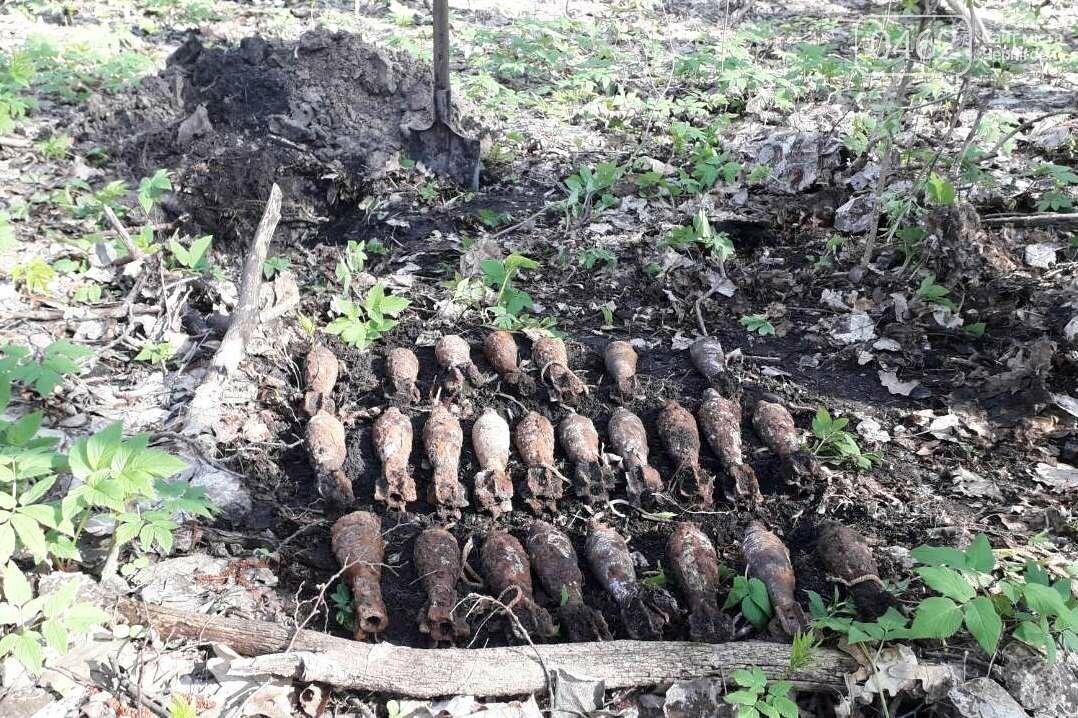 Під Черніговом знайшли арсенал боєприпасів з часів Другої світової, фото-1