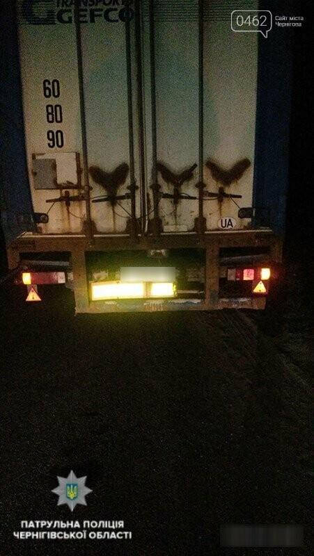 На Чернігівщині водій керував фурою напідпитку, фото-2