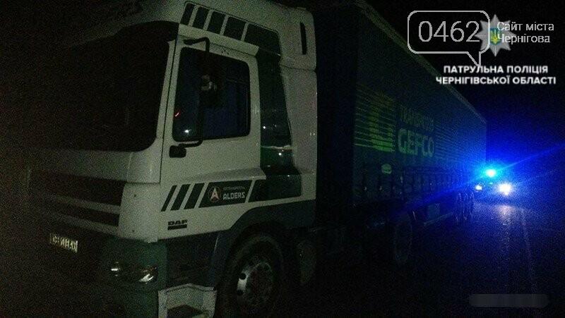 На Чернігівщині водій керував фурою напідпитку, фото-1