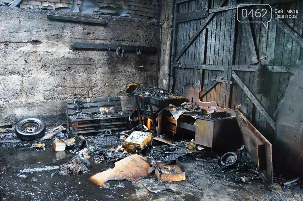 У Чернігові сталася пожежа на території обласного вузлу спецзв'язку, фото-7