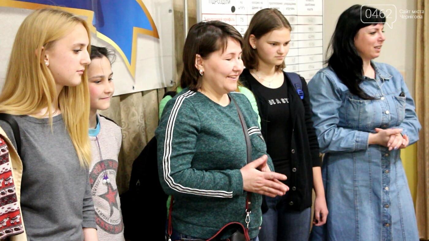 Чернгівські школярі привітали військових із Великоднем, фото-3