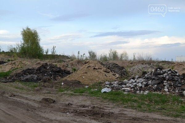 Чернигов стихийный - в городе внезапно появились кладбище домашних животных и свалка, фото-5