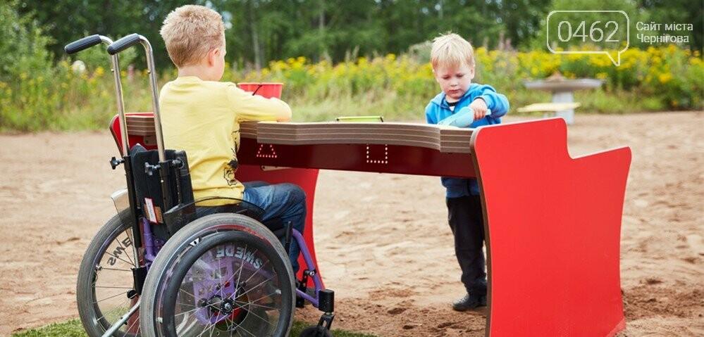 У Чернігові презентували проект парку для дітей з обмеженими фізичними можливостями, фото-10