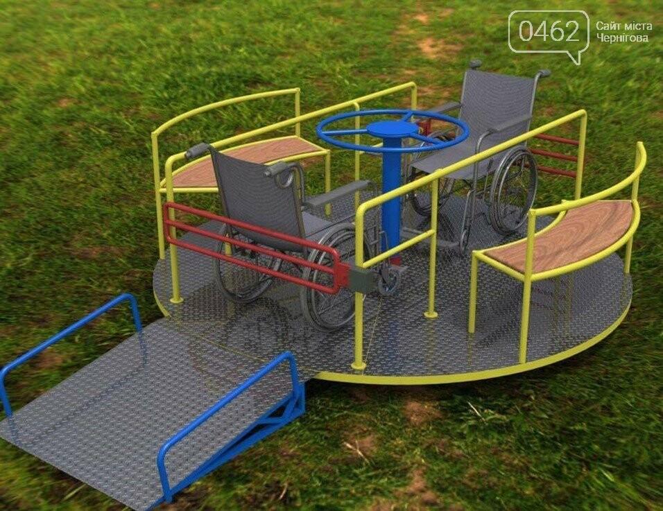 У Чернігові презентували проект парку для дітей з обмеженими фізичними можливостями, фото-2