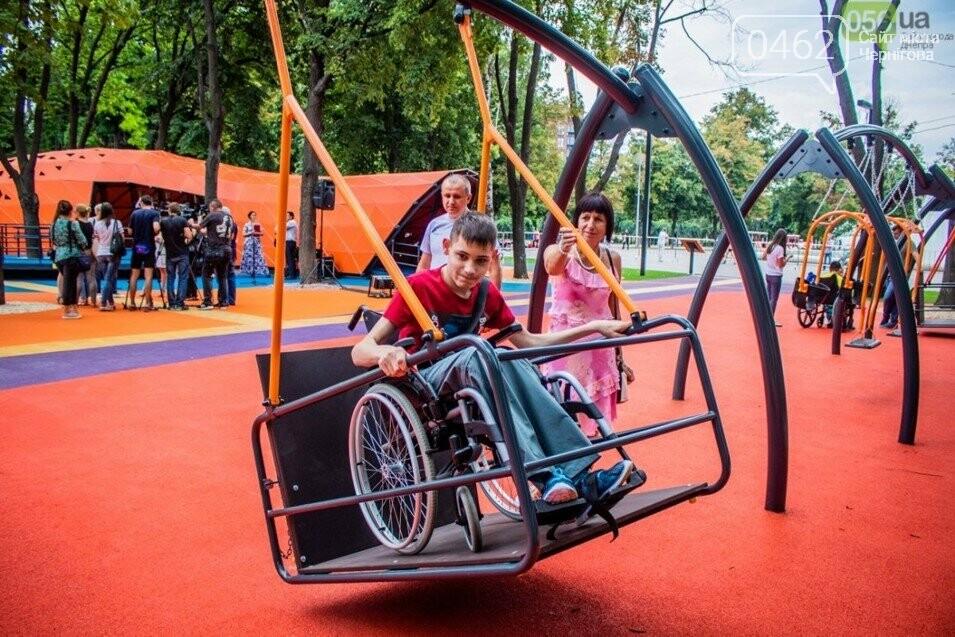 У Чернігові презентували проект парку для дітей з обмеженими фізичними можливостями, фото-5