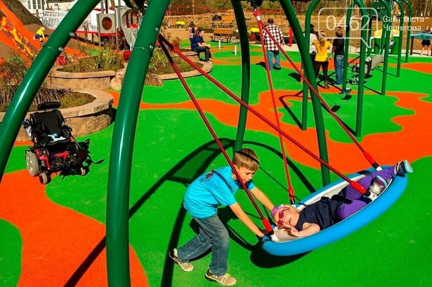 У Чернігові презентували проект парку для дітей з обмеженими фізичними можливостями, фото-7