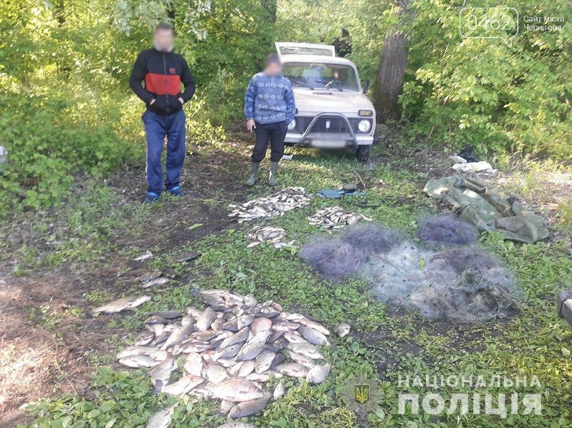 На Чернігівщині затримали бракон'єрів: виловили більше 80 кілограмів риби, фото-1
